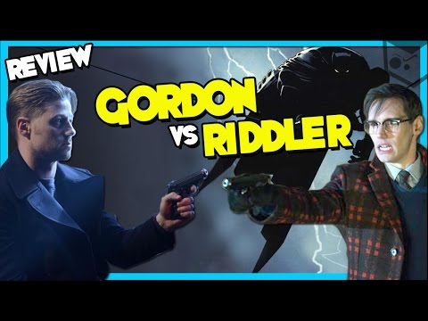 "Gordon vs The Riddler GOTHAM 2x17 ""Into The Woods"" REVIEW"
