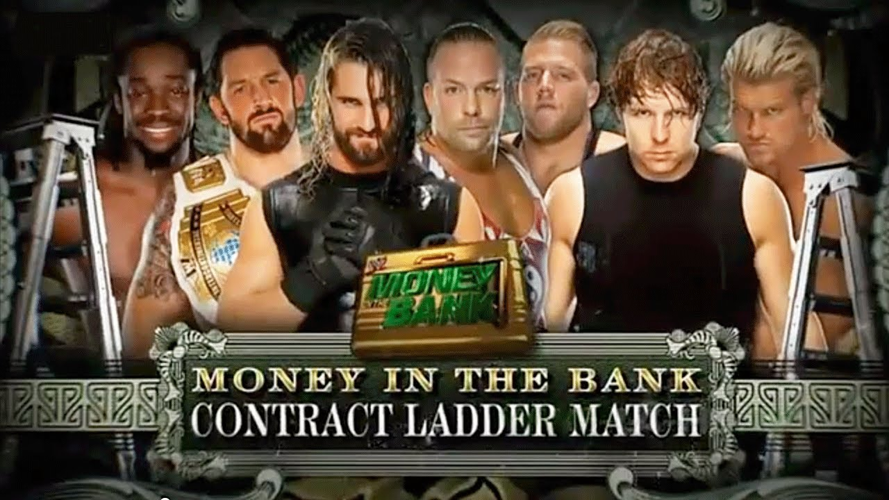 WWE Money in the Bank 2014 Ladder Match - Money in the Bank 2014 Contract Full Match HD - YouTube