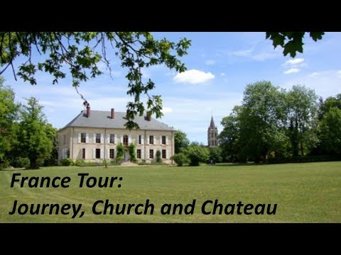 Vlog 80. France Band Tour: Journey, Church and Chateau