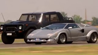 Lamborghini LM002 and Lamborghini Countach SAME ENGINE!