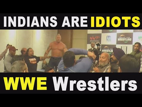 """ INDIANS ARE IDIOTS "" SAY WWP WRESTLER"