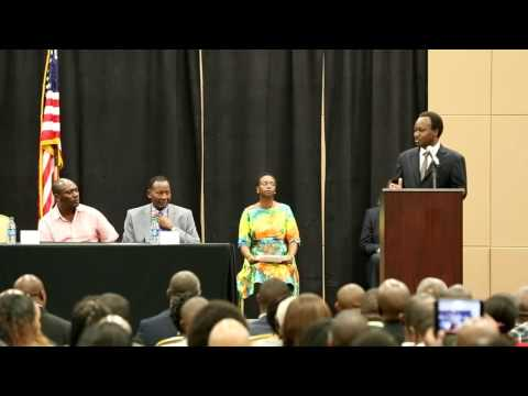 President Uhuru's visit to Dallas Texas on 8-8-2014