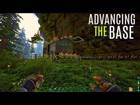 RANDOM BASE ADVANCEMENTS and Tames - The Center PVP (E6) - ARK Survival Gameplay