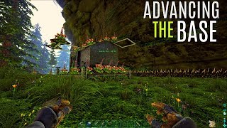 BASE ADVANCEMENTS and Tames - The Center PVP (E6) - ARK Survival Gameplay