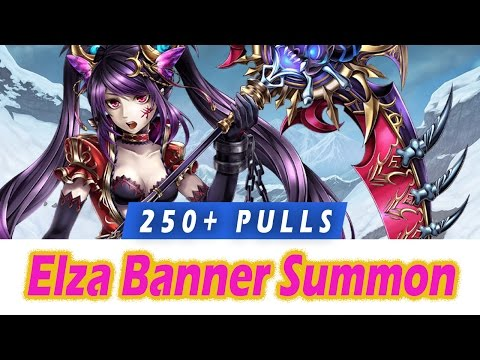 [FFBE] 250+ Pulls for Elza, Tilith, Karl, Seria  - Brave Frontier Banner Summon
