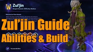 Heroes of the Storm - Zul'Jin Guide: Build Choices & Explanations