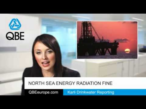 North Sea energy radiation fine
