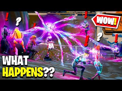 What Happens if Boss Raz Meets ALL Bosses in Fortnite!