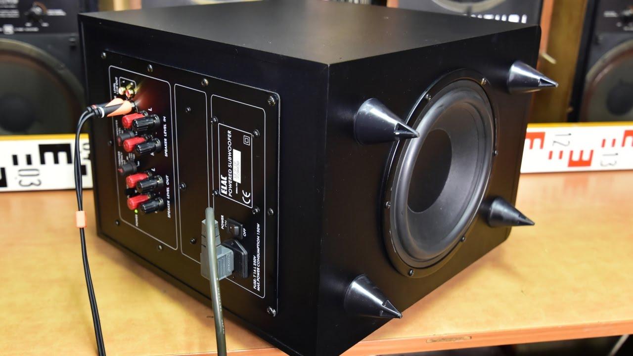 ELAC SUB 101 ESP active subwoofer aktiv woofer amplifier