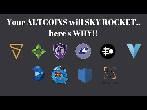 Your ALTCOINS Will GO UP SOON.. Here's WHY!