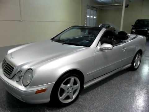 2001 mercedes benz clk430 2dr cabriolet 4 3l 2055 sold youtube. Black Bedroom Furniture Sets. Home Design Ideas