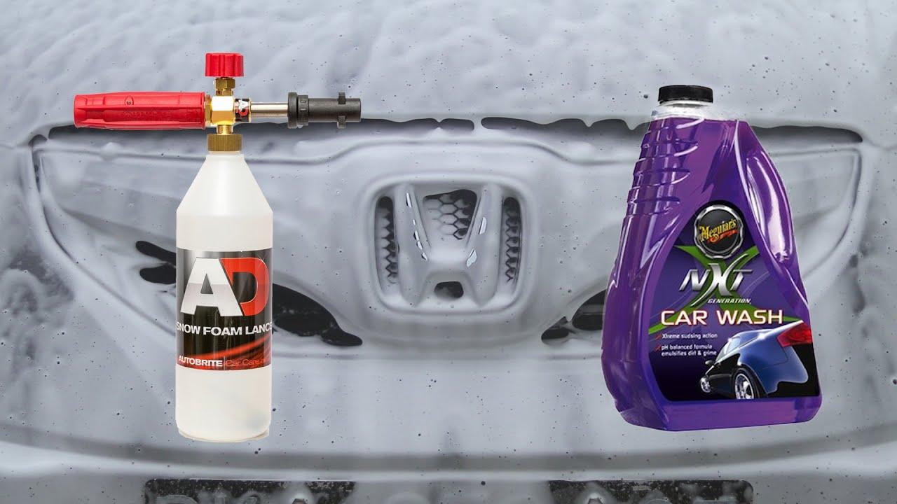 snow foam lance test meguiars nxt car wash part 1 youtube. Black Bedroom Furniture Sets. Home Design Ideas