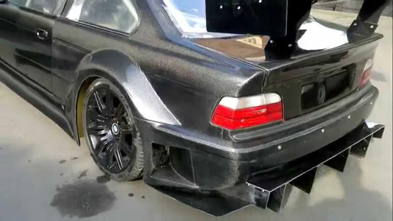 BMW E36 GTR CARBON - YouTube