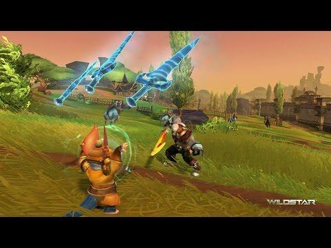 WildStar PVE - Chua Medic Gameplay Part 17 - Auroria Full Map Revealed