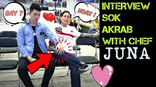 INTERVIEW SOK AKRAB WITH CHEF JUNA !! Wajib Nonton !!