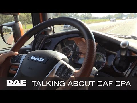 DAF Trucks UK | Talking About DAF Driver Performance Assistant (DPA) | DAF Champions Tour