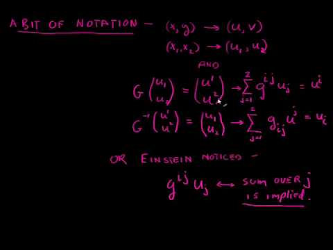 Differential Geometry Part 3  Transformations and the Metric Tensor