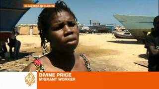 Foreign migrants at risk in Libya