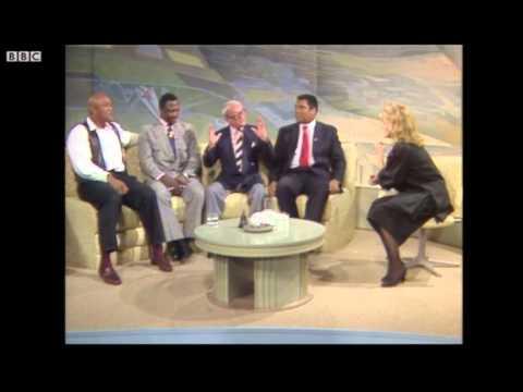 Ali, Frazier and Foreman on Wogan talkshow