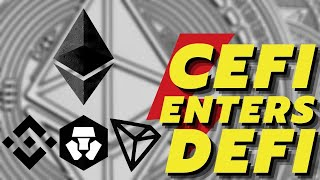 HUGE! Ethereum DeFi Pushes Decentralized Finance on Binance, Crypto.Com and Tron!