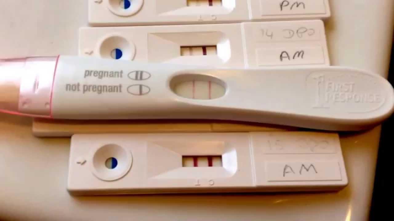 15 dpo live pregnancy test! 15 months ttcing!
