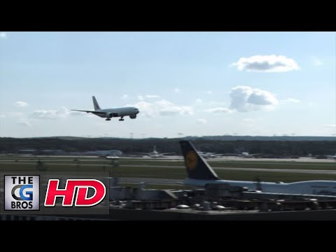 ** Spectacular Landing at Frankfurt Airport Boeing 777 **