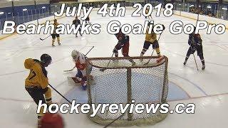 July 4th 2018 Bearhawks Hockey Goalie GoPro