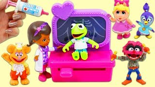 Disney Junior Muppet Babies Get a Check Up from Doc McStuffins Toy Hospital!