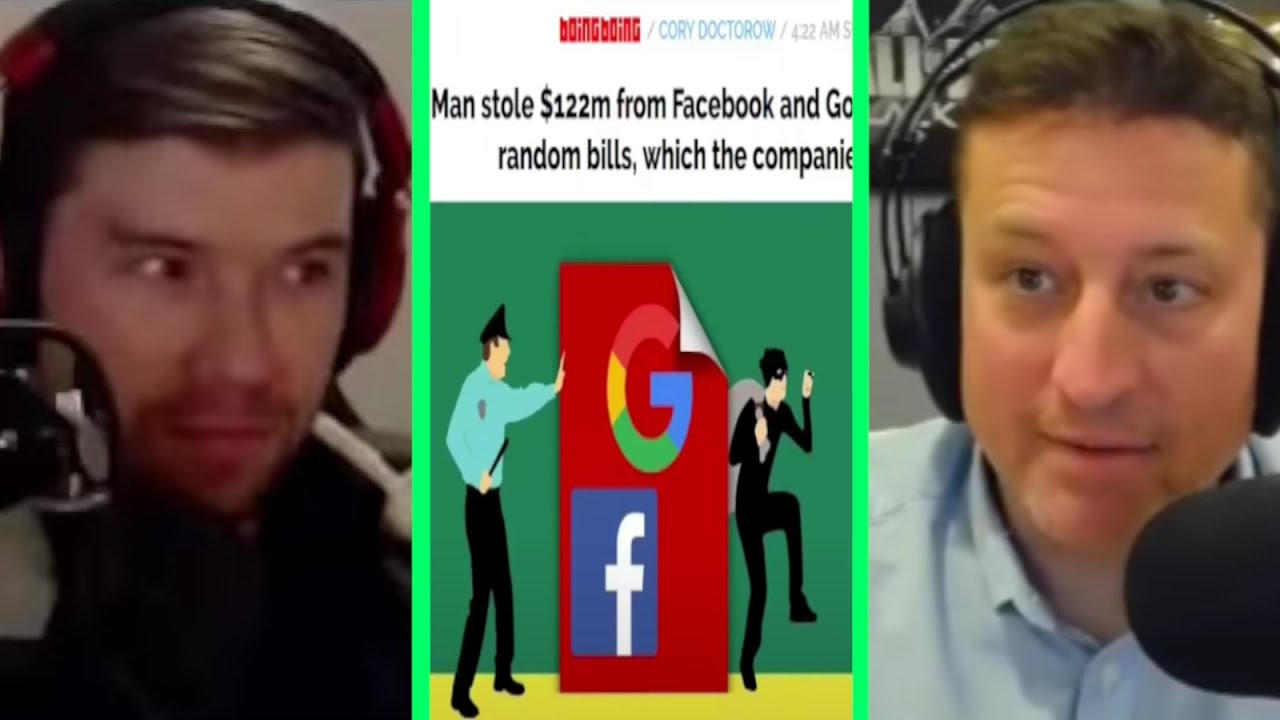 Man steals $122m from Facebook and Google by sending them fake bills