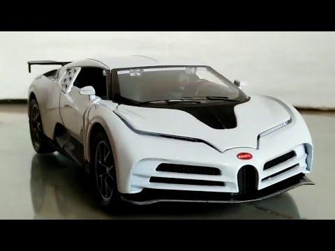 Bugatti Centodieci 1:32 scale CHiMEi Diecast Car Close Up