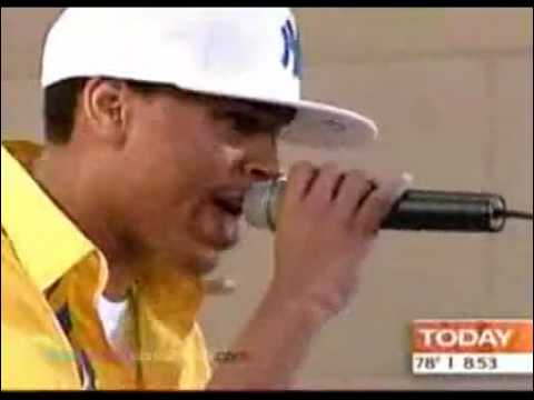 Chris Brown Gimme That live on Today Show 2006