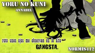 Yoru no Kuni【GANGSTA】Fandub Latino【ENDING】Full Version