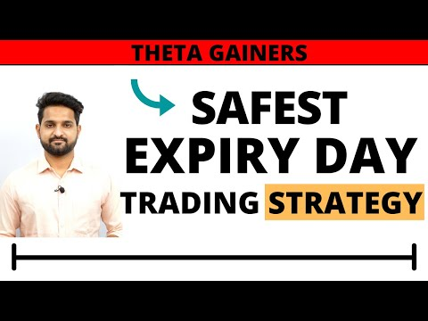 Expiry day Option Selling Strategy | Advance Level | Theta Gainers |