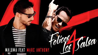 Maluma - Felices los 4 (Salsa Version) with Marc Anthony - One Hour Song