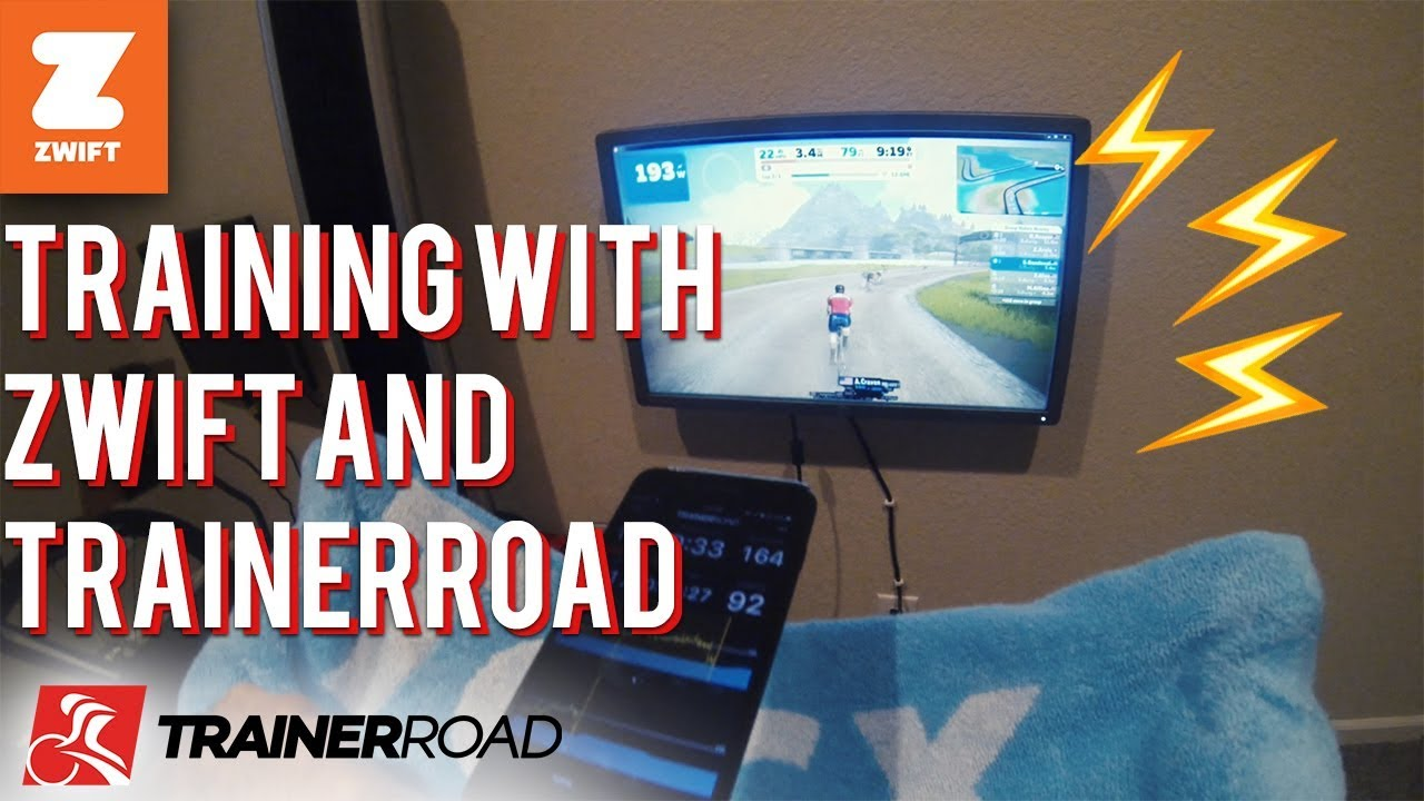 Training with Zwift and TrainerRoad Vlog - YouTube