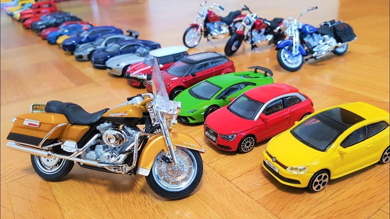 Push Cars forward, Let's Go Pull back cars Burago Cars