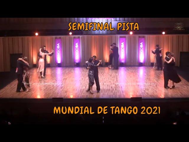 Mundial de tango 2021, SEMIFINAL PISTA, un tango de 8ª ronda, baile de tango