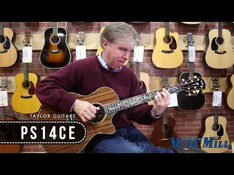 Taylor Guitars PS14ce Demo - Manchester Music Mill