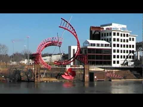 Ol' Man River - The Cumberland River keeps on rollin' along thru Nashville Tennessee