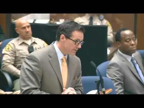 Conrad Murray Trial - Day 1, part 2 /audio fixed & the rest of Kenny Ortega testimony/