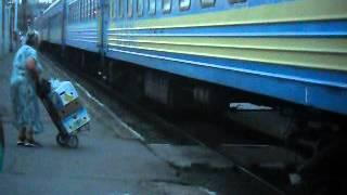 Бабушка под поездом