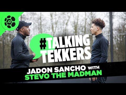 Jadon Sancho of Borussia Dortmund #TalkingTekkers with Stevo The Madman