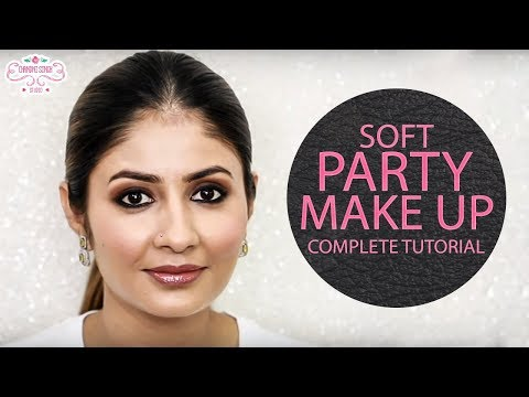 Soft Party Makeup - Complete Step By Step Makeup Tutorial - Best Makeup Tutorial For Parties - 동영상