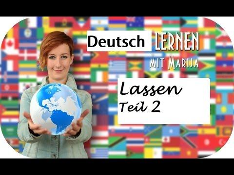 Lassen #2 | Wortschatz Deutsch B1 B2 C1