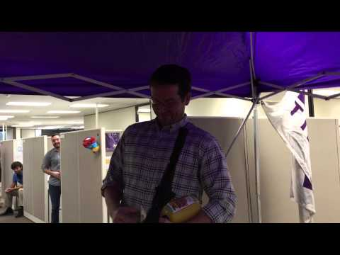 LSU office tailgate prank on Mississippi State Grad