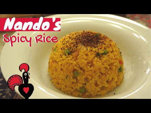 Nando's Spicy Rice Super Easy Recipe