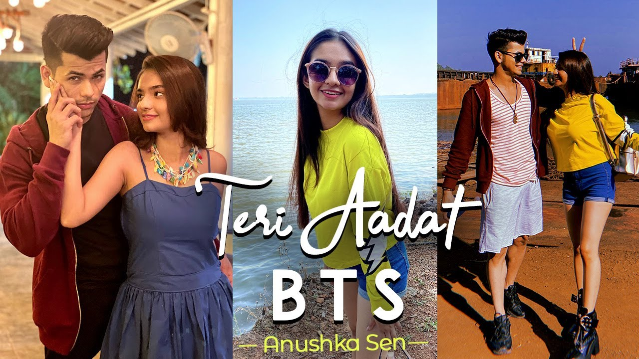 Teri Aadat - Behind The Scenes ft. Siddharth Nigam | Anushka Sen