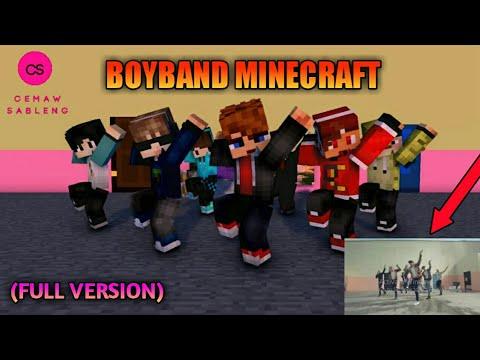 Animasi Minecraft BTS : FIRE Versi Dangdut   DJ OjoNesu