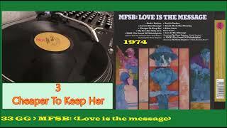 MFSB Album: Love is the Message (1974) 01. Zack's Fanfare (00:22) 0...