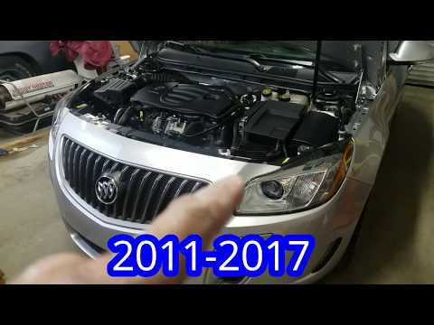 2011-2017 Buick Regal GS Projector Head Light Fix #DIY #HID #turbocar